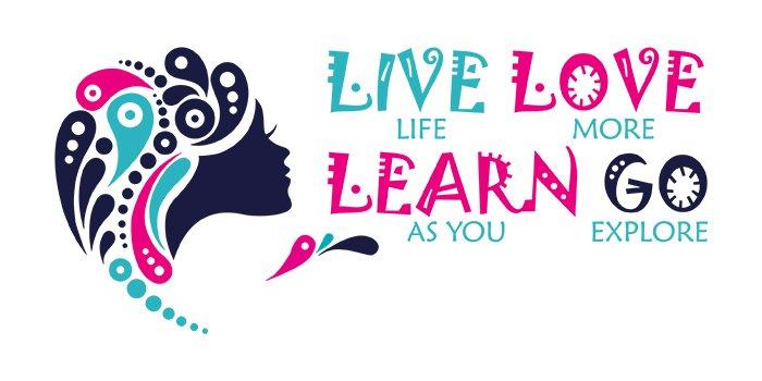 Live Love Learn Go Logo Design